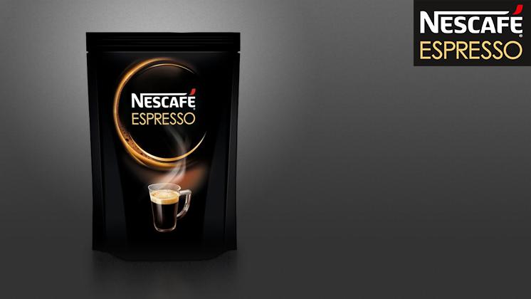 NESCAFÉ Espresso в мягкой упаковке
