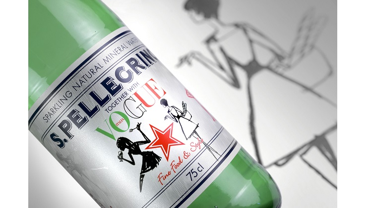 S.PELLEGRINO together with Vogue Italia лимитированная серия