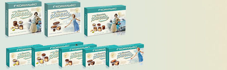 <p>Шоколадные конфеты КОМИЛЬФО®</p>